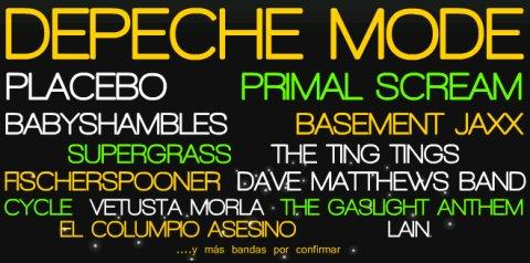Grupos confirmados para el Bilbao BBK Live 2009