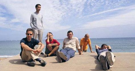 El grupo La Buena Vida, tadavía con Irantzu