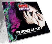 Imagen promocional del disco de versiones de The Cure de la NME