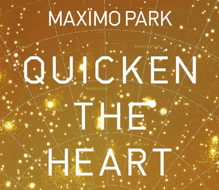 Portada Quicken the heart de Maximo Park