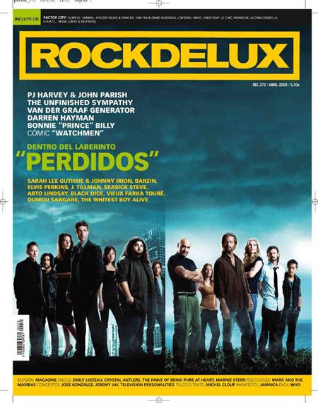 Portada de Rockdelux con Perdidos