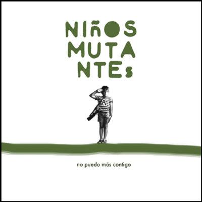 Carátula del single No Puedo Más Contido de Niños Mutantes