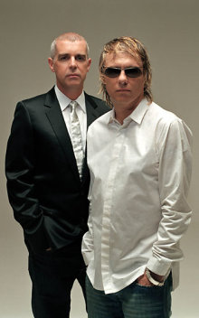 El grupo Pet Shop Boys