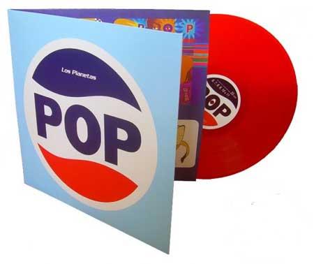 Vinilo del disco POP de Los Planetas