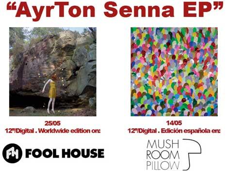 Portada del EP de Delorean Ayrton Senna
