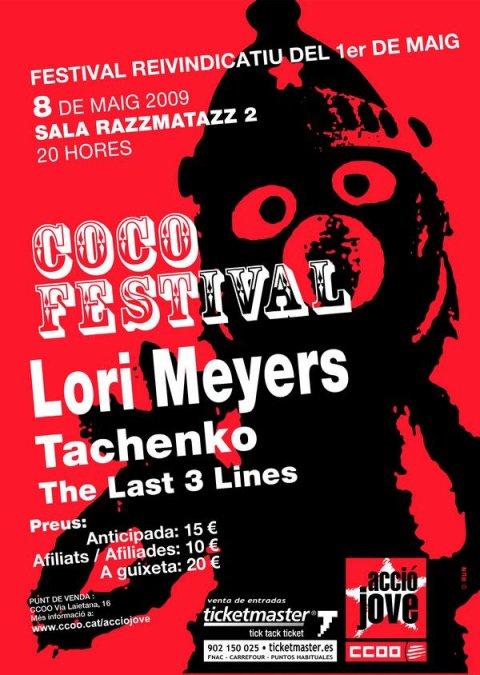 Cartel promocional del COCO Festival