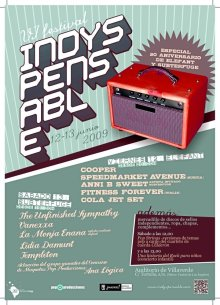 Cartel promocional de la sexta edición del Festival Indyspensable