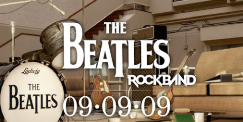 Imagen promocional del videojuego The Beatles: Rock Band