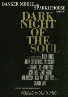 Imagen promocional del disco Dark Night of the Soul de Danger Mouse
