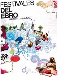 Cartel de Festivales del Ebro