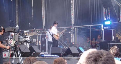 Pete Doherty en el Bilbao BBK Live 2009