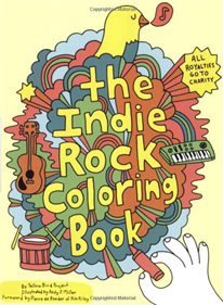 Portada del libro The Indie Rock Coloring Book