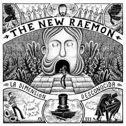 Portada del nuevo disco de The New Raemon, La dimension desconocida