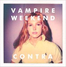 Carátula del nuevo disco, Contra, de Vampiere Weekend