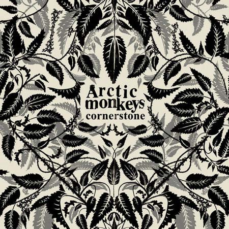 Portada del single de Arctic Monkeys, Cornerstone