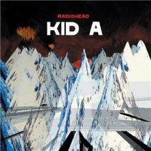 Carátula del disco Kid A de Radiohead