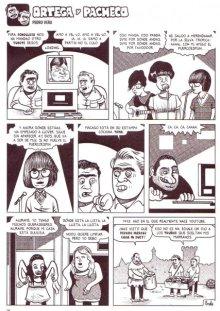 La tira de Ortega y Pacheco en la que aparecen Papa Topo!