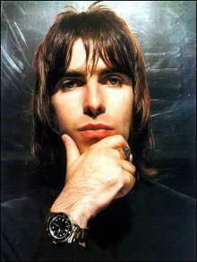 El artista Liam Gallagher