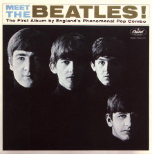 Portada del disco Meet The Beatles!