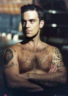 El artista británico Robbie Williams