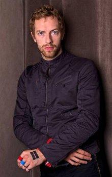 El lider de Coldplay, Chris Martin