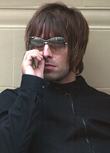 El artista Liam Gallagher