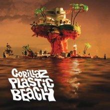 Portada del nuevo disco, Plastic Beach, de Gorillaz