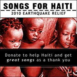 Portada Songs for Haiti