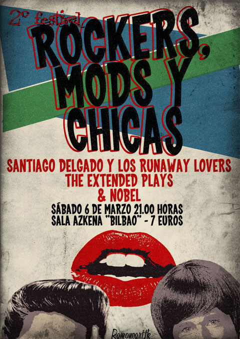 Rockers, Mods y Chicas