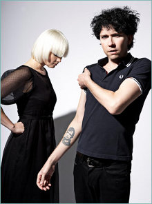 El grupo The Raveonettes