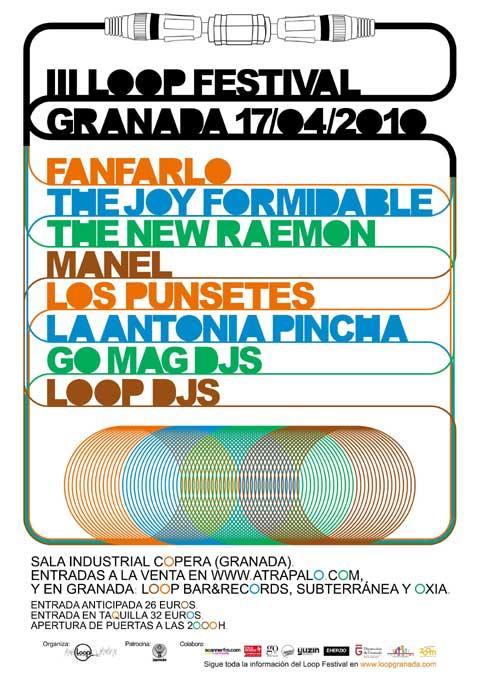 Cartel del III Loop Festival