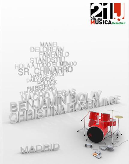 Cartel del Dia de la Música