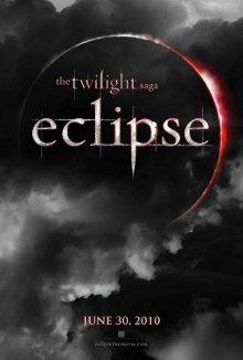 Cartel promocional de la película Eclipse, tercera de la saga Crepúsculo
