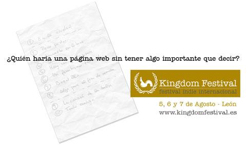 El Kingdom Festival de León se pospone a 2011 por Recorte Presupuestario