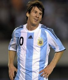 El jugador de fútbol Leo Messi