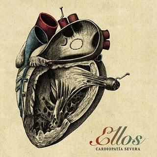 Portada del nuevo disco de Ellos, Cardiopatia Severa