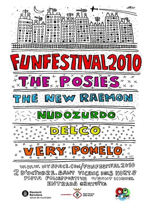 Cartel del Funfestival 2010
