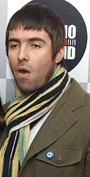 El cantante Liam Gallagher