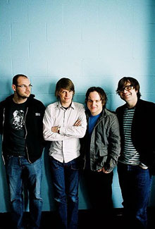El grupo Death Cab for Cutie
