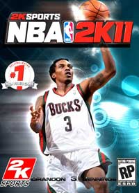 Portada del juego NBA 2k11