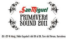 Logo del San Miguel Primavera Sound 2011