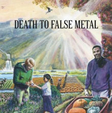 Portada del nuevo disco de Weezer, Death To False Metal