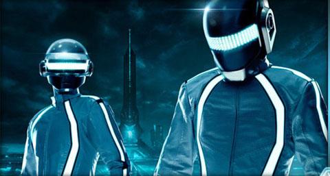 Daft Punk han compuesto la banda sonora para Tron Legacy