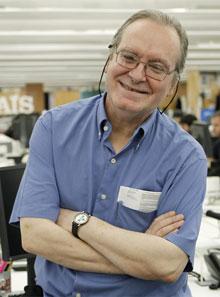El locutor radiofónico Diego A. Manrique