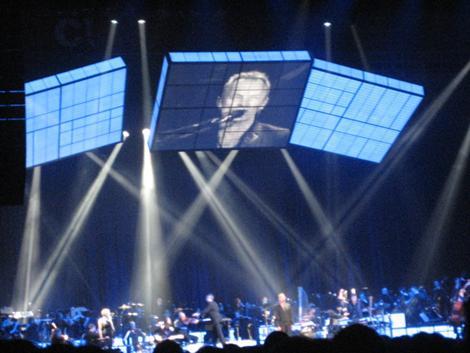 Sting en concierto en el BEC de Barakaldo