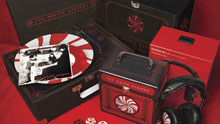 La caja especial The White Stripes Merchandise Collection