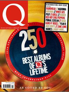 Portada del número 295 de Q Magazine, correspondiente a Enero de 2011