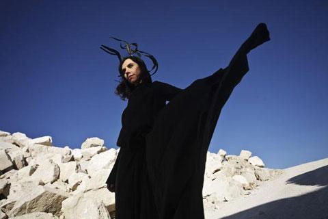 La artista PJ Harvey