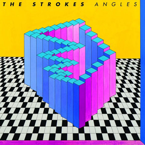 Portada del disco Angles de The Strokes