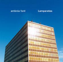 Portada del nuevo disco, Lamparetes, de Antònia Font